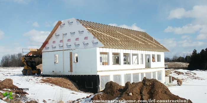 خانه ساخته شده با آی سی اف