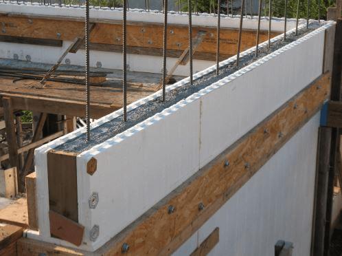 ساخت خانه با سیستم ساندویچ پانل دیواری ICF
